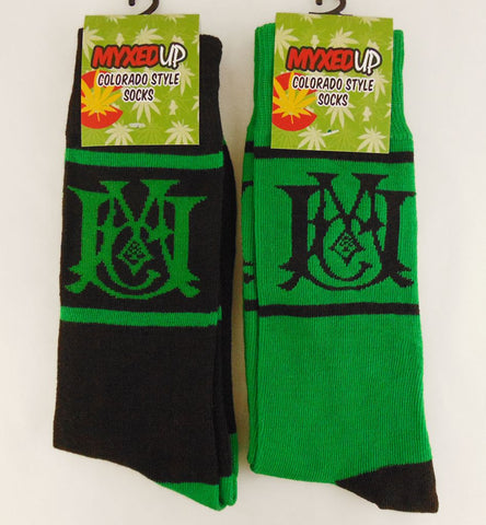 Myxed Up Colorado Style Socks Scramble Logo