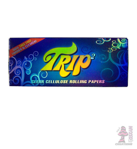Trip King Size Clear Cellulose Rolling Papers