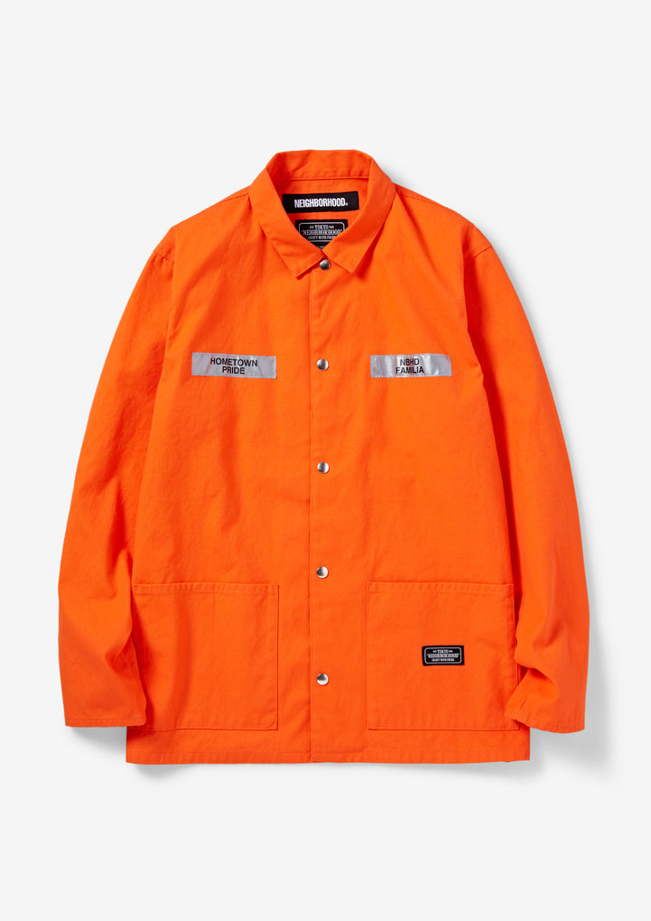 COVERALL . CW / C-JKT