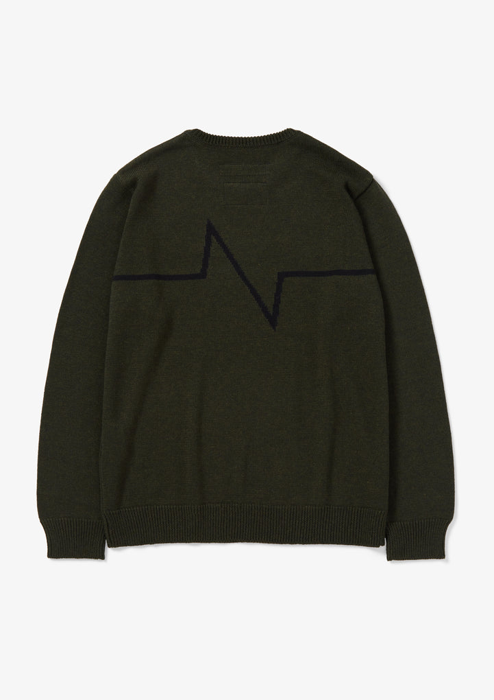 ELECTRO / CA-KNIT . LS