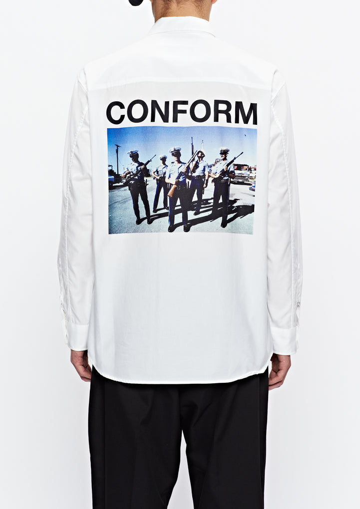 NHON . CONSUME / C-SHIRT . LS