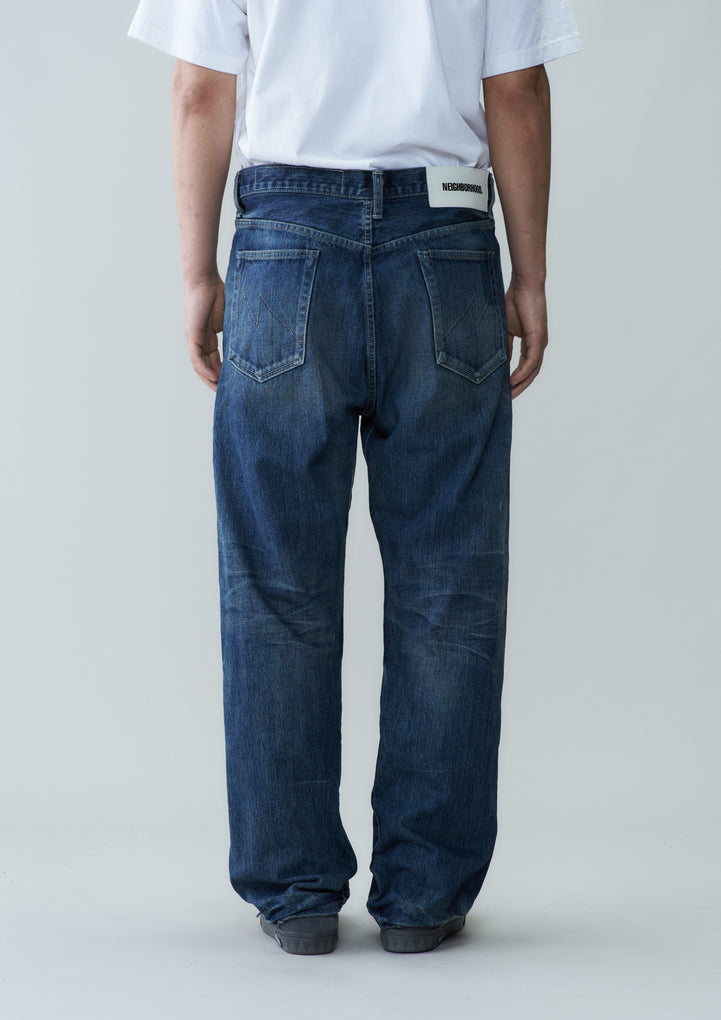 WASHED . DP BASIC / 14OZ-PT