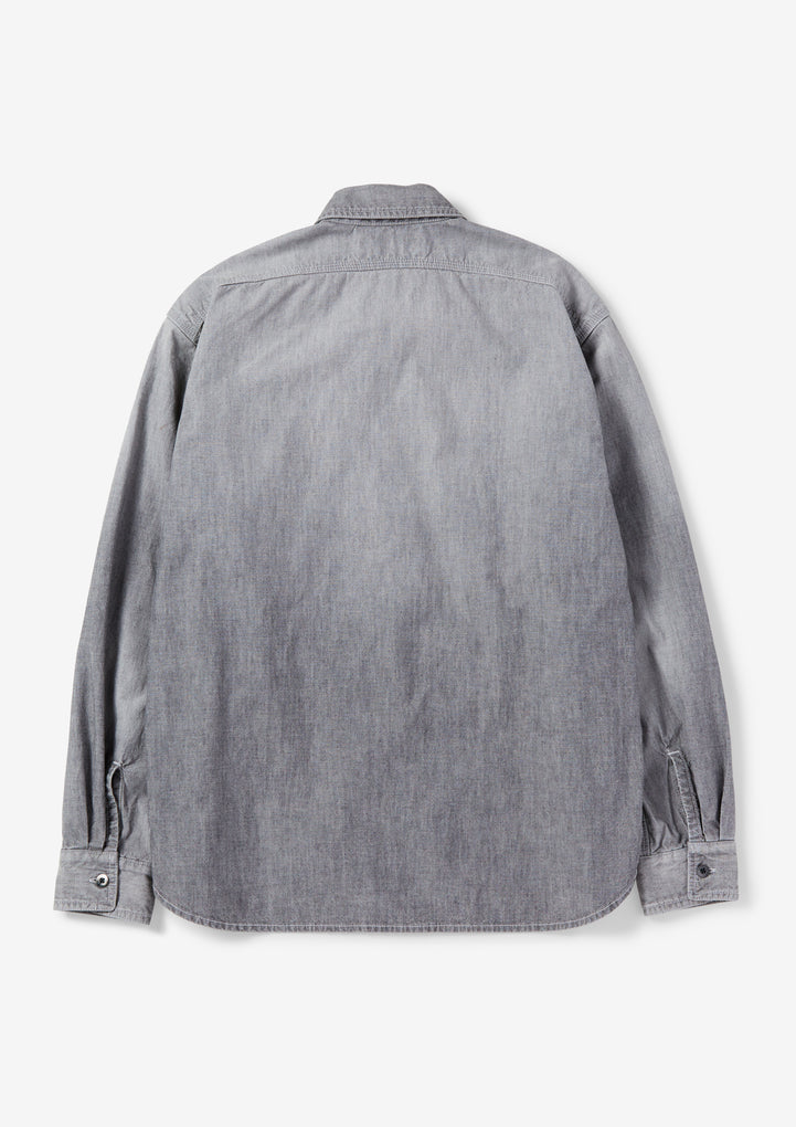 SAVAGE . CHAMBRAY / C-SHIRT . LS