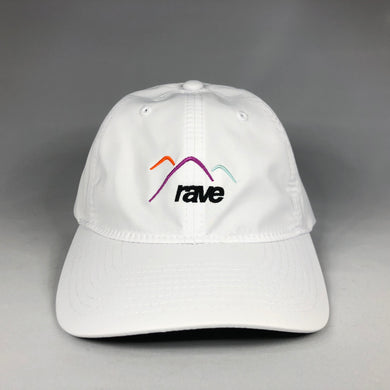 Summit water-repellent cap - white