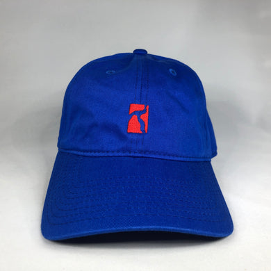 Logo cap - royal blue