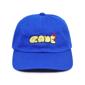 Scrawl cap - royal blue