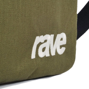 Slim bag - green / sand