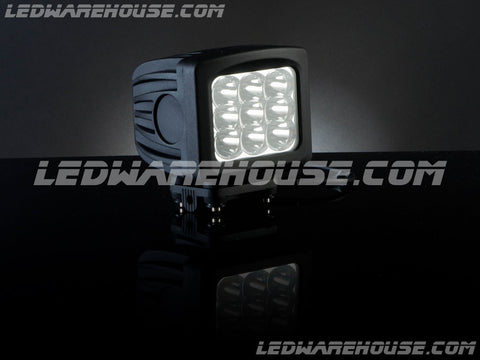 "5"" 90w Square Wide Spot Light"