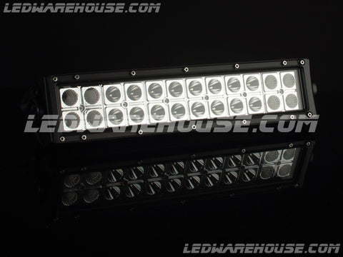 "12"" 72w Double Row LED Light Bar"