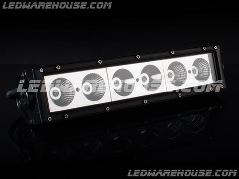 "14"" 60w Single Row LED Light Bar"