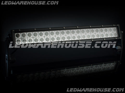 "20"" 120w Double Row LED Light Bar"