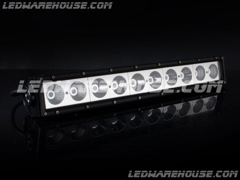 "22"" 100w Single Row LED Light Bar"