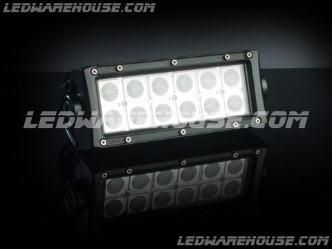 "6"" 36w Double Row LED Light Bar"