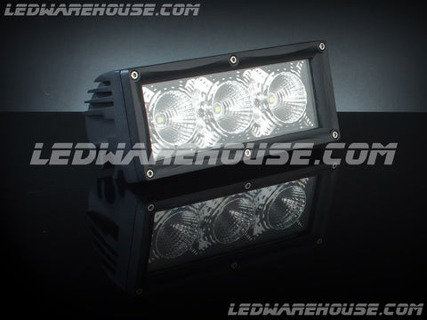 "7"" Single Row Interconnectable LED Light Bar"