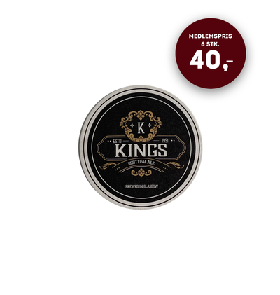 Kings Scottish Ale (6-pak) - Ølbrikker