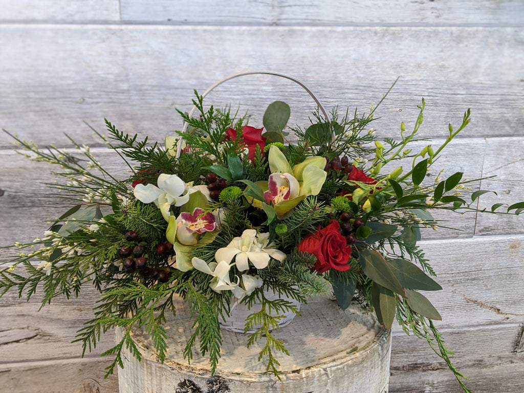 Holiday Basket Arrangement