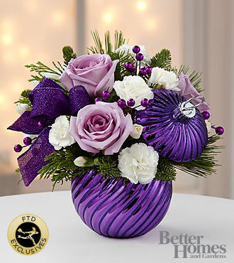 The FTD® Holiday Delights® Bouquet by Better Homes and Gardens®