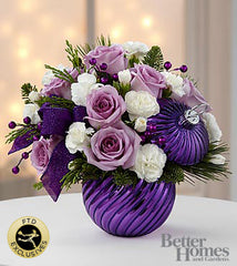 The FTD® Holiday Delights® Bouquet by Better Homes and Gardens® - Beaudry Flowers