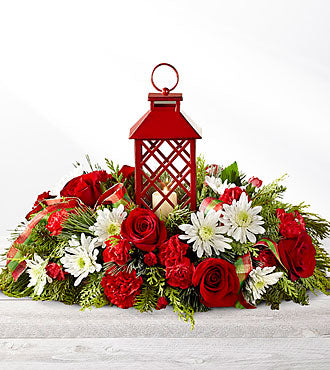 The FTD® Celebrate the Season™ Centerpiece - Beaudry Flowers