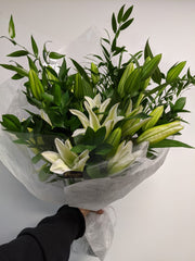 Hand-Tied Bouquet of Lilies