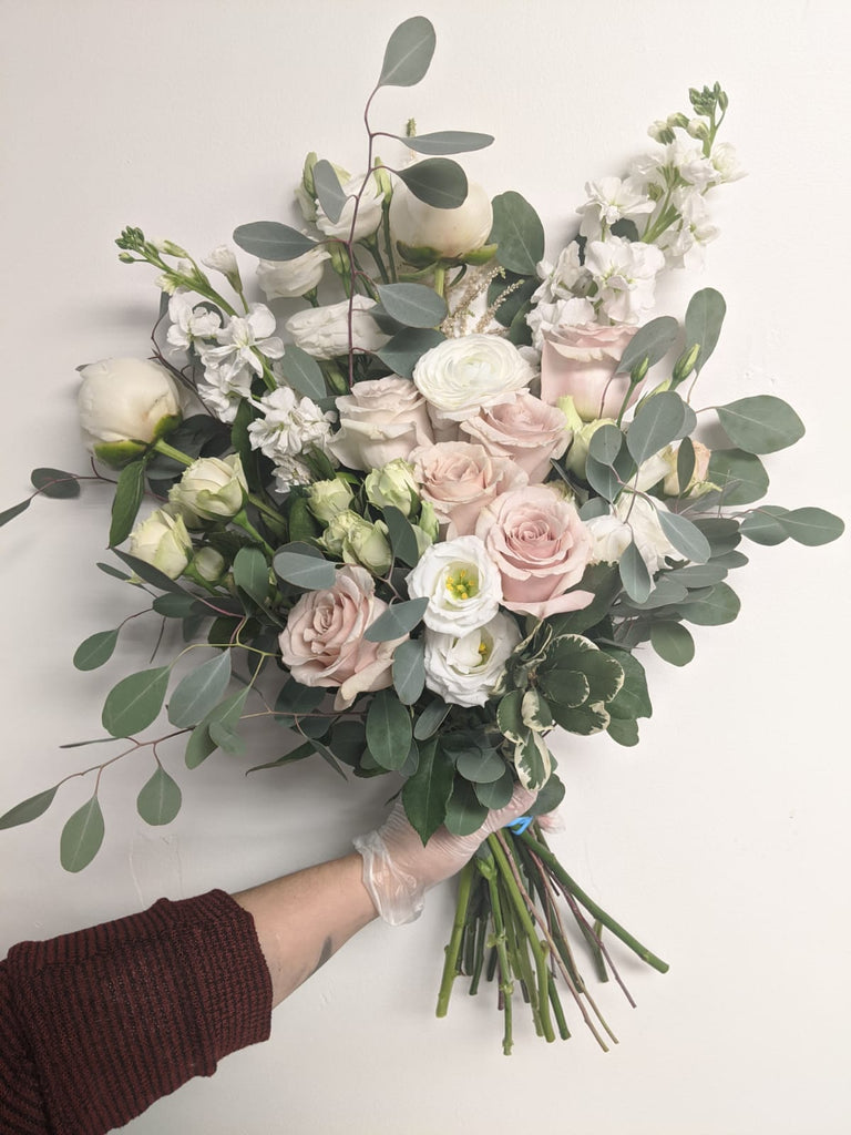 Mixed Pastels Hand-Tied Bouquet