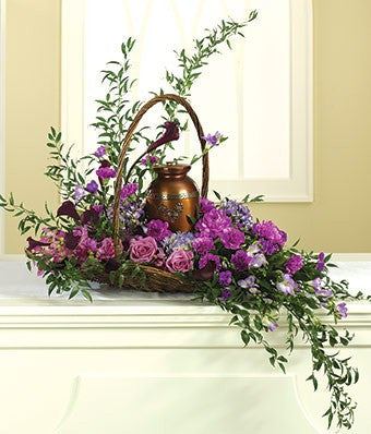 Cascading Urn Basket - Beaudry Flowers