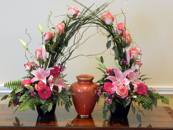 Gated Urn Tribute - Beaudry Flowers
