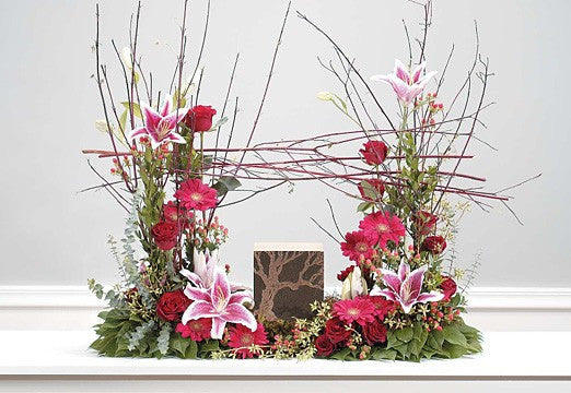 Natural Urn Tribute - Beaudry Flowers