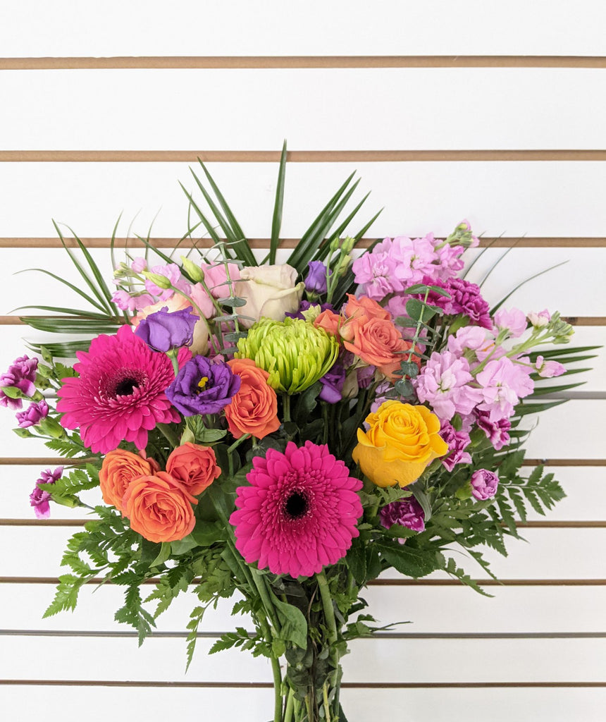 Vibrant & Colourful Hand-tied Bouquet