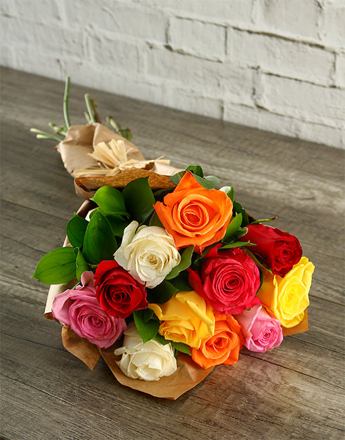 Promo Be My Valentine Mixed Roses Bouquet