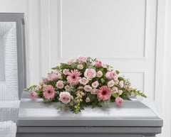 The FTD Sweet Farewell Casket Spray (S24-4490) - Beaudry Flowers