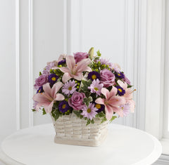 The FTD Loving Sympathy Basket (S31-4509) - Beaudry Flowers