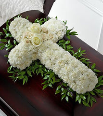 The FTD® Peaceful Memories™ Casket Spray - Beaudry Flowers