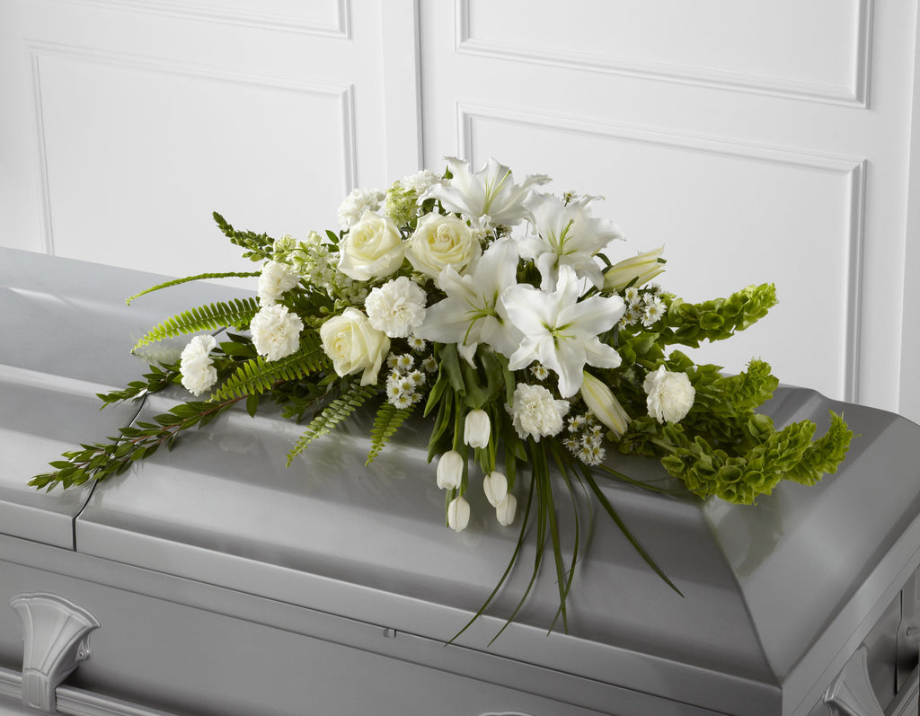 The FTD Resurrection Casket Spray (S8-4451) - Beaudry Flowers
