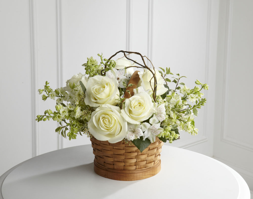 The FTD Peaceful Garden Basket (S9-4456d) - Beaudry Flowers