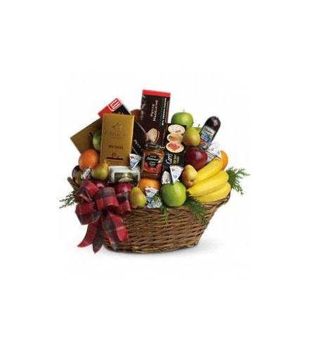 The Ultimate Christmas Basket - Beaudry Flowers