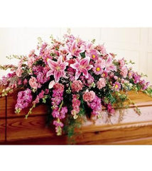 The FTD Peaceful Passage Casket Spray - Beaudry Flowers