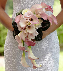 The FTD® Pink Cascade™ Bouquet - Beaudry Flowers