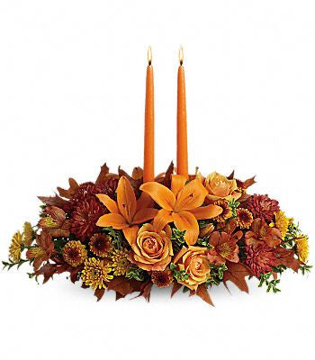Family Gathering Centerpiece - Beaudry Flowers