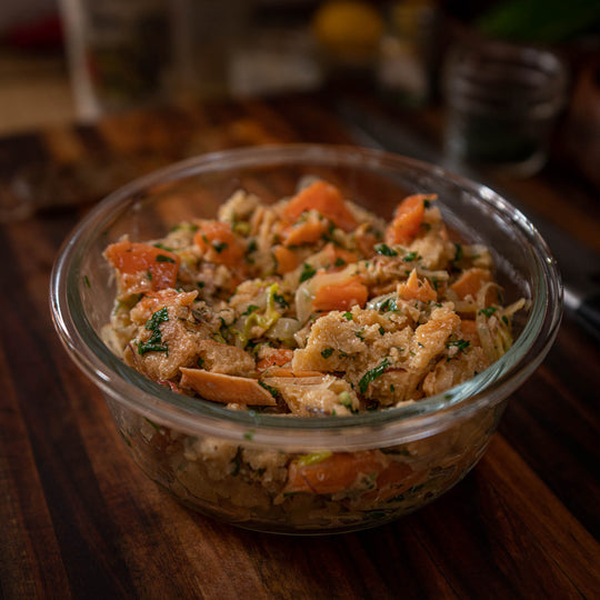 Chalksteam Trout Thanksgiving Stuffing Recipe
