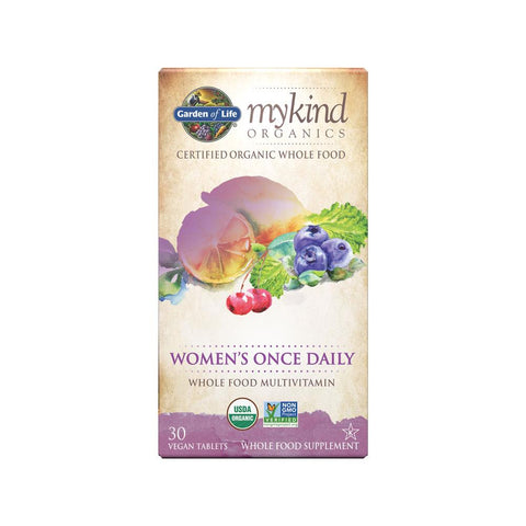 Garden of life mykind Organic Women's Once a day 30 tabs