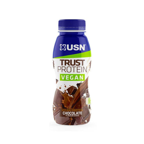 USN Trust Vegan RTD 8x310ml Chocolate