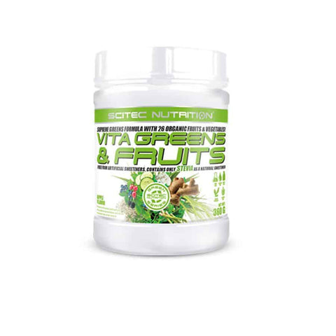 Scitec Nutrition - Vita Greens & Fruit Stevia 360g appl