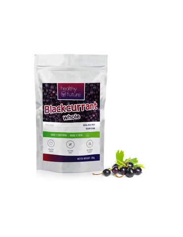 Freeze dried fruits Blackcurrant 100g 100% Natural, No added sugar, No Preservatives
