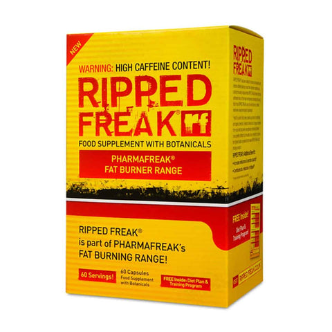 Pharma Freak Ripped Freak 60 Caps Amazing Fat Burner
