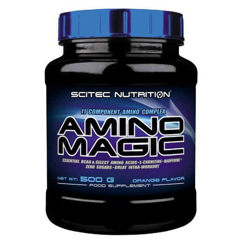 Scitec Nutrition - Amino Magic 10 Component L-Carnitine Amino Acids Complex Powder 500g