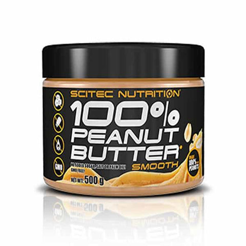 Scitec Nutrition - 100% Peanut Butter 500g smooth