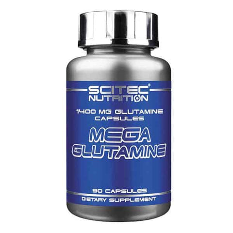 Scitec Nutrition - Mega Glutamine 1400 Caps Amino Acid Strength Muscle Mass Gain