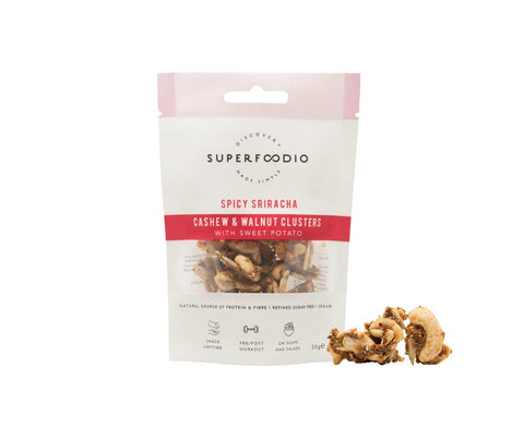 SuperFoodio Cashew & Walnut Cluster Spicy Sriracha