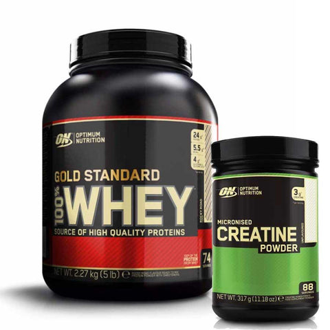 ON Whey Gold Standard 2,27kg + ON Creatine 317g